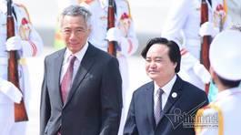 Thủ tướng Lý Hiển Long và phu nhân đến Đà Nẵng