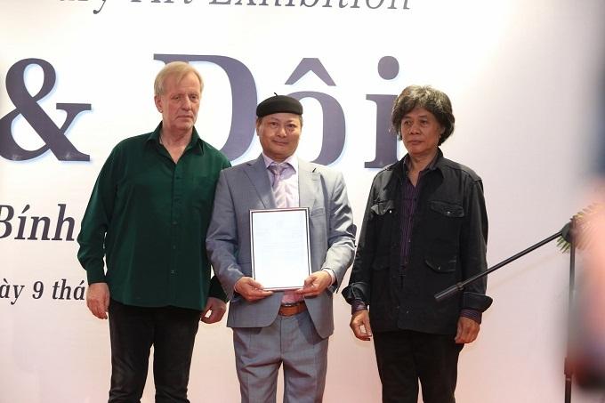 Triển lãm tranh lớn nhất được tổ chức tại Bảo tàng Hà Nội - ảnh 1