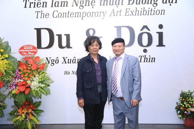 Triển lãm tranh lớn nhất được tổ chức tại Bảo tàng Hà Nội - ảnh 4