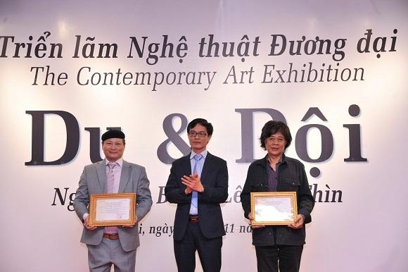 Triển lãm tranh lớn nhất được tổ chức tại Bảo tàng Hà Nội - ảnh 6