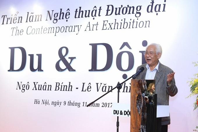 Triển lãm tranh lớn nhất được tổ chức tại Bảo tàng Hà Nội - ảnh 7