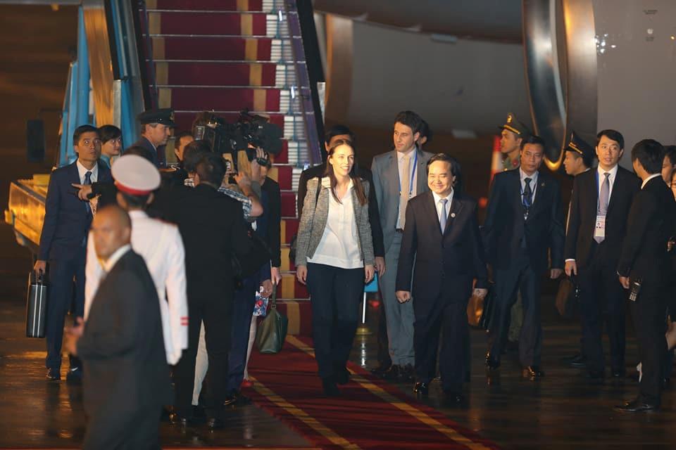 APEC 2017,Thủ tướng Canada,Thủ tướng Úc,Quốc vương Brunei,Thủ tướng New Zealand,Tổng thống Donald Trump