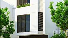 Kiến trúc sư tư vấn xây nhà 58m2 hiện đại, kinh phí rẻ bất ngờ