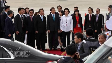 Tổng thống Hàn đến Việt Nam