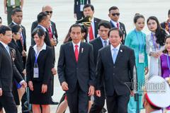 Tổng thống Indonesia và Phu nhân tới Đà Nẵng