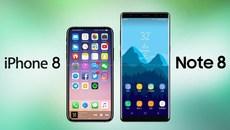 iPhone X sẽ đả bại Galaxy Note 8 trong quý 4
