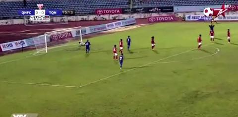 Quảng Nam 0-0 Than Quảng Ninh phút thứ 16