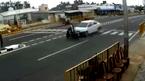 Sang đường bất cẩn, người phụ nữ gặp tai nạn kinh hoàng