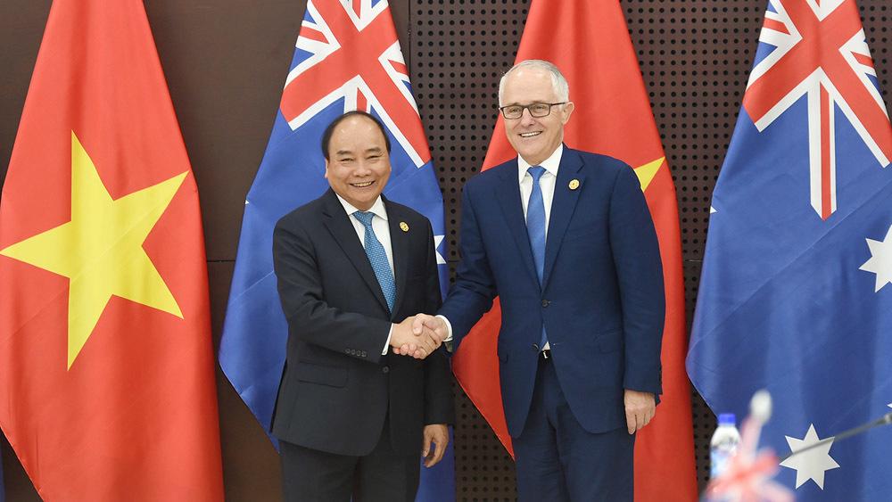 Thủ tướng Việt Nam, Australia nhất trí nâng cấp quan hệ lên Đối tác chiến lược