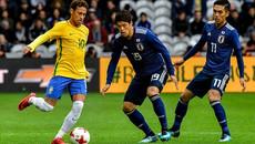 Neymar nhảy samba, Brazil hạ đẹp Nhật Bản