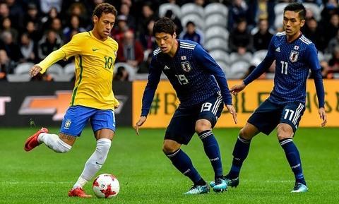 Brazil 3-1 Nhật Bản