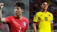 Sao Tottenham lập cú đúp, Hàn Quốc đánh gục Colombia