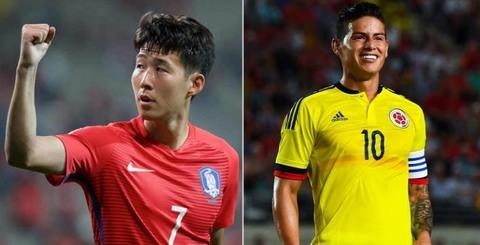 Hàn Quốc 2-1 Colombia
