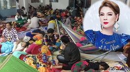 Thanh Thảo kêu gọi quyên góp cho người dân miền Trung