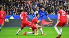 Griezmann và Giroud giúp Pháp nhấn chìm Xứ Wales