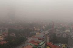 Hà Nội chìm trong sương mù dày đặc sáng sớm