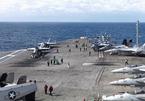 Dàn tàu chiến Hàn tập trận hiếm với 3 tàu sân bay Mỹ