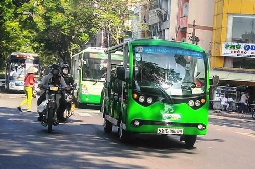 3 tuyến xe điện phục vụ buýt đường sông đầu tiên ở Sài Gòn