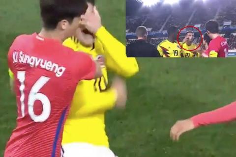 Phì cười với pha ăn vạ của James Rodriguez ở trận thua Hàn Quốc