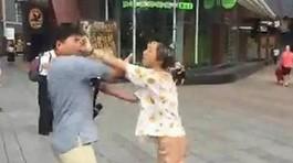 Yêu qua mạng, ngày gặp mặt cặp đôi xông vào đánh nhau vì quá xấu