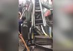 Thang cuốn đột ngột tự phá huỷ, hành khách kinh hãi