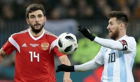 Nga 0-1 Argentina