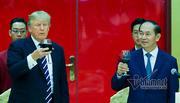 Tổng thống Donald Trump dự tiệc chiêu đãi Nhà nước