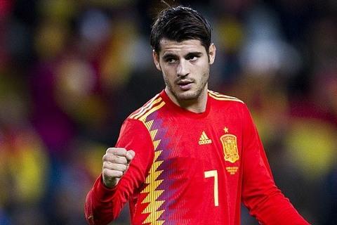 Tây Ban Nha 5-0 Costa Rica