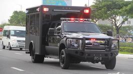 Chiếc xe tưởng bình thường nhưng cực kỳ quan trọng trong đoàn hộ tống Tổng thống Mỹ