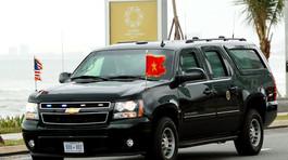 Xe thay thế 'The Beast' chở ông Trump tại Đà Nẵng là gì?