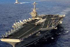Tàu sân bay Mỹ sẽ thăm cảng của Việt Nam năm 2018