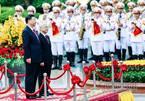Trực tiếp: Lễ đón Tổng bí thư, Chủ tịch Trung Quốc Tập Cận Bình