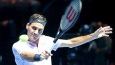 Federer thắng nhọc trận ra quân ATP Finals