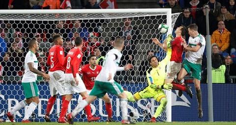 Thụy Sỹ 0-0 Bắc Ireland