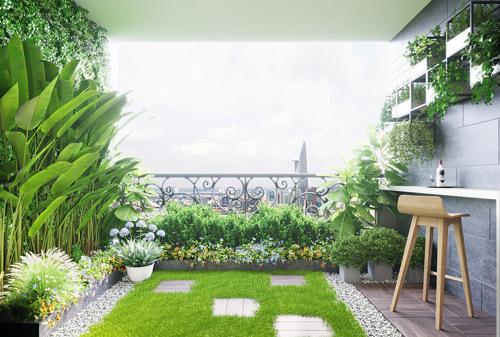 Người Sài Gòn ưa chuộng căn hộ sân vườn