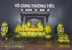 Lễ tang cụ Hoàng Thị Minh Hồ, người hiến 5000 lượng vàng