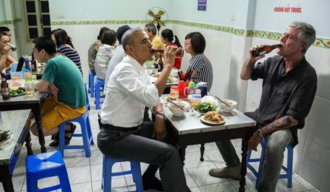 Obama ăn bún chả