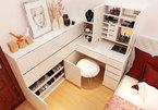 Nội thất cho phòng ngủ nhỏ hiện đại hơn