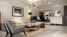 Phong cách hiện đại trong nội thất gia đình