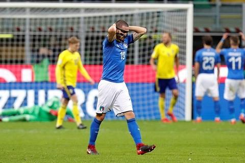 Italia 0-0 Thụy Điển