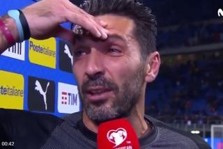 Buffon khóc nức nở sau khi hụt vé dự World Cup 2018