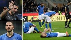 Italia lần đầu tiên sau 60 năm vắng mặt ở World Cup