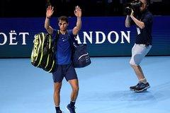Thua đau Goffin, Nadal rút lui khỏi ATP Finals 2017