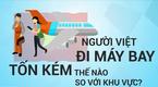 Người Việt mất bao nhiêu ngày lương để mua một vé máy bay?