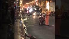 Tài xế say xỉn, 'chống' CSGT gây náo loạn đường phố Sài Gòn