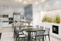Thiết kế nhà ăn tươi mới với phong cách nội thất hiện đại
