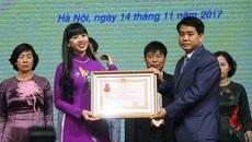 Tuyên dương các giáo viên tiêu biểu của Hà Nội năm 2017