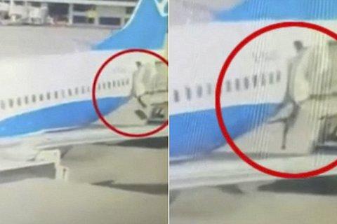 rơi khỏi máy bay