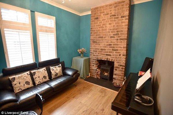 Mua nhà ma cũ nát giá 1 bảng Anh, cặp vợ chồng cải tạo thành căn hộ đẹp kinh ngạc - ảnh 5
