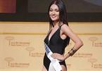 Thùy Dung tự tin sải bước tại chung kết Hoa hậu quốc tế 2017